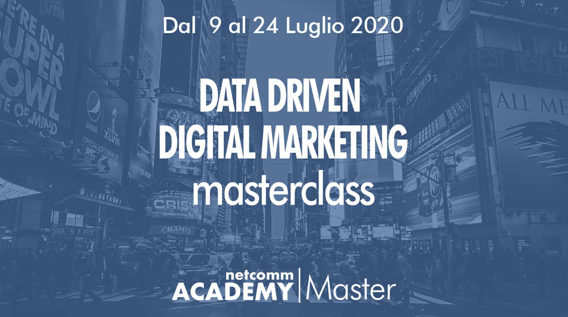 data driven digital marketing masterclass netcomm 2020 4 edizione