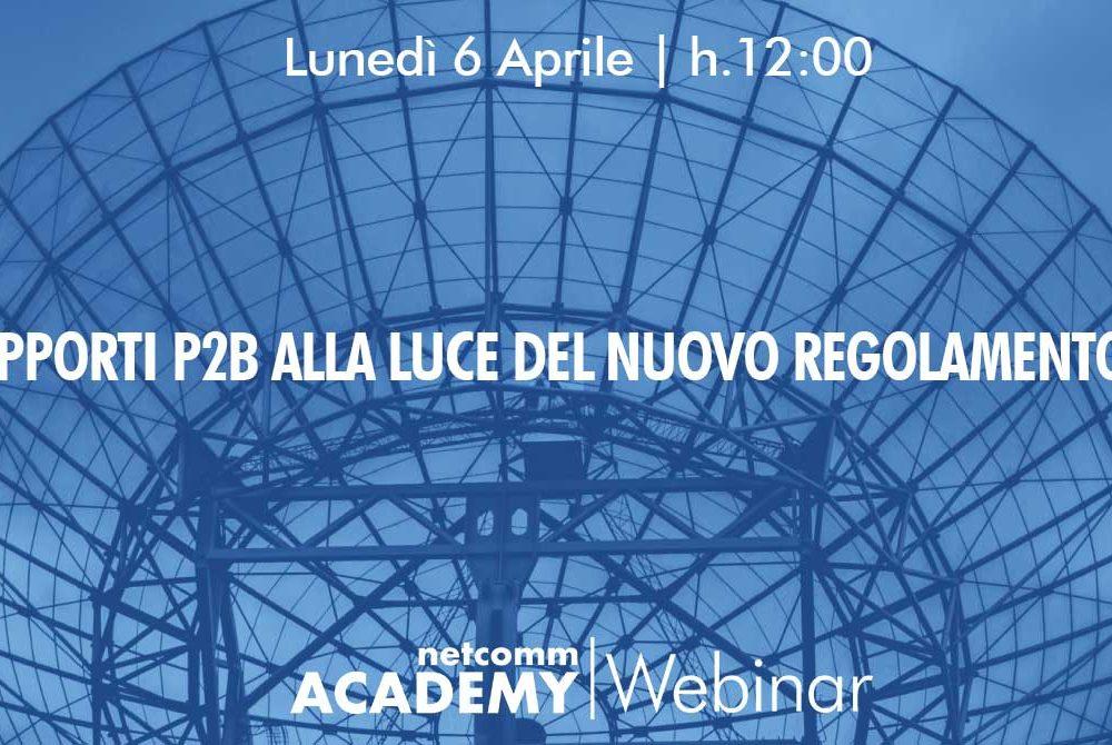 I rapporti P2B alla luce del nuovo Regolamento UE | Lun 6 Apr 2020