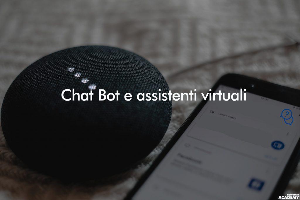 Chat Bot e Assistenti Virtuali webinar 2019