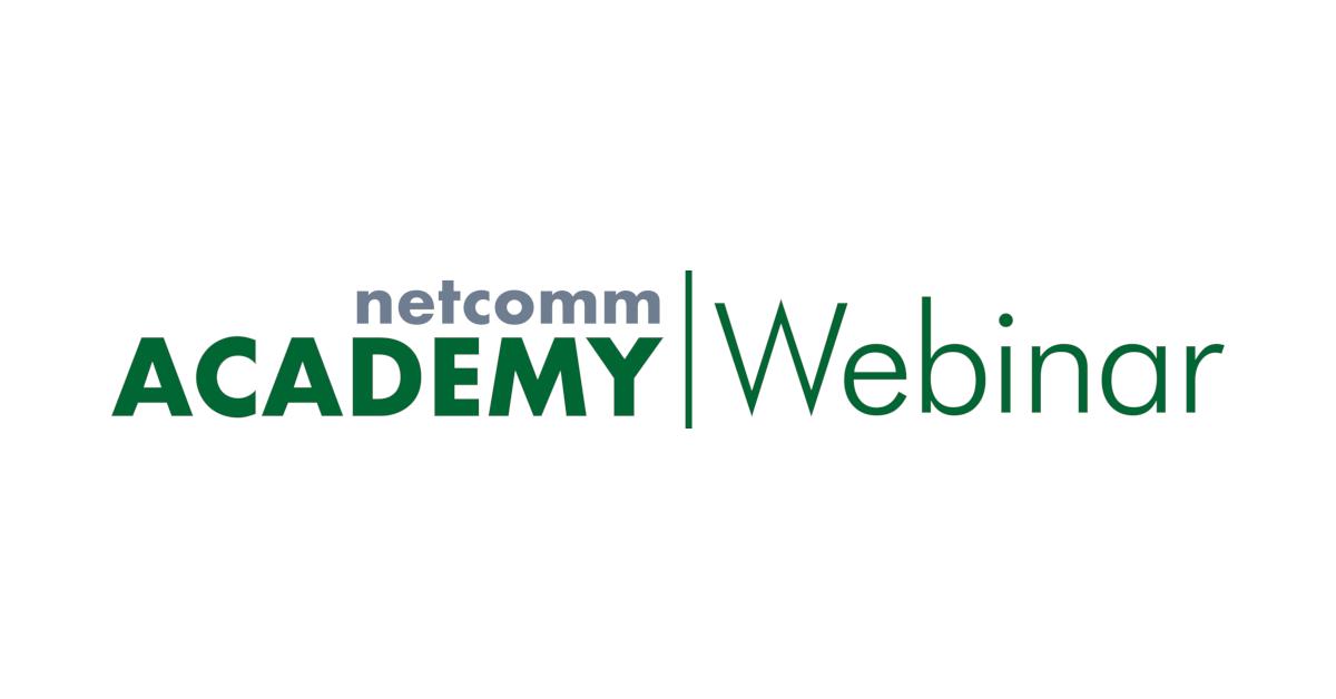 netcomm academy webinar