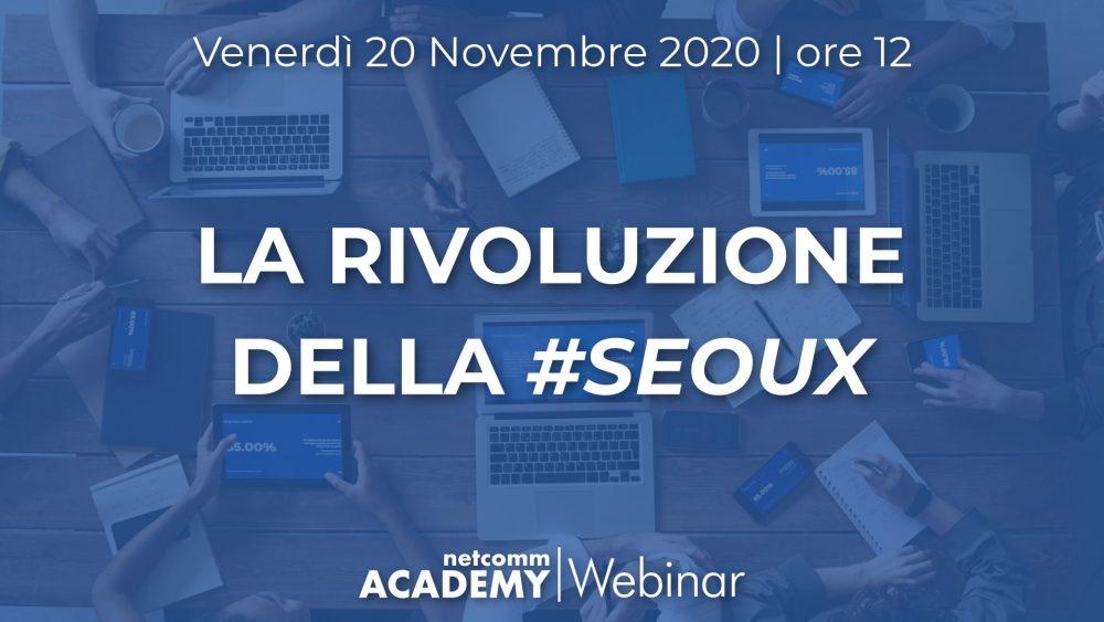 la rivoluzione della seoux webinar netcomm academy