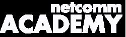 Logo netcomm academy bianco